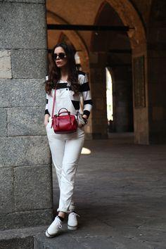 Milan Fashion Week, Fall/Winter 2014-2015 - outfit - Irene Colziเป็นการแต่งตัวของคนอายุ25-35ปี เป็นคนชนชั้นกลางถึงชนชั้นสูง