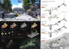 Tercer Lugar Concurso Nacional de Ideas para la Renovación urbana del área centro de San Isidro,Lámina 01. Image Courtesy of ZIM Arquitextura + Pablo Guiraldes