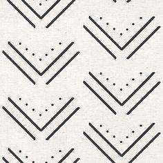 Arrowhead Wallpaper | Black Arrow Design | MuralsWallpaper