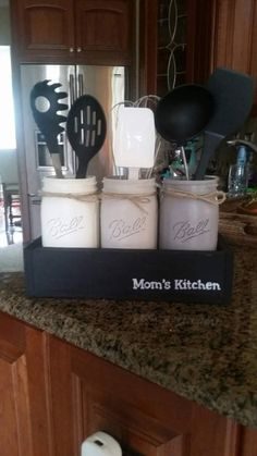 Check Out This Item In My Etsy Shop  Https://www.etsy.com/listing/520112709/gift For Mom Mason Jar Kitchen Decor