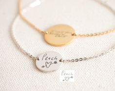 ♥ F L A S H ∙ S A L E ∙ 40% OFF ∙ L I M I T E D ∙ T I M E ∙ O N L Y ♥  ♥ Handwriting Bracelet ♥ The most unique jewelry you can find, perfect gift for you and your loved one. S I G N A T U R E ∙ B R A C E L E T  • Material: High Quality Solid 925 Sterling Silver • Finish: Sterling Silver ∙ 18K Gold ∙ Rose Gold • All our work is custom made by hand with Love and Care in our workshop ♥   H O W ∙ T O ∙ O R D E R • Simply use the -ASK A QUESTION- or -CONTACT SHOP OWNER- button to send us a…
