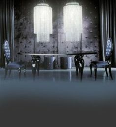 The Diva Collection dining set, at Juliette's Interiors. a large range of high end Italian dining room furniture.