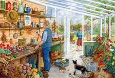levkonoe: Time for Tea by Daphne Baxter