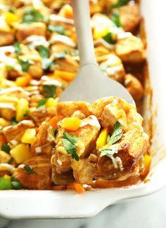 ... chicken fajitas in an easy, make-ahead casserole recipe. Winner winner