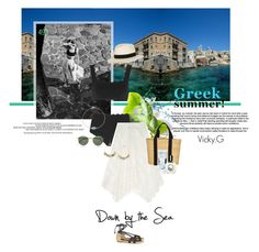 """Set # 493 / Syros, Cyclades , Greece"" by vassiliki-g on Polyvore Greece, Awesome, Creative, Polyvore, Summer, Random, Greece Country, Summer Time, Casual"