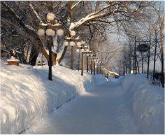 D'Auteuil sidewalk - Quebec, Quebec