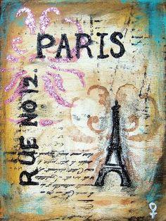 Shabby Chic Paris by Venus - CafePress Vintage Travel Posters, Vintage World Maps, Poster Vintage, Paris Poster, Pink Bottle, Shabby Chic Pink, Paris Design, Vintage Paris, Illustrations And Posters