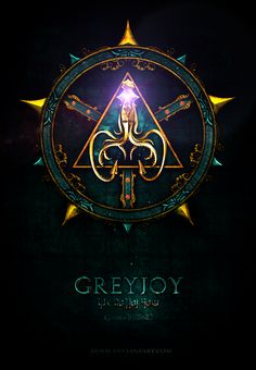 'Game of Thrones' House Icons by Jie Feng; House Greyjoy.