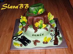 """Torta """"Pre poľovníka"""" cesto: orechové plnka: čokoládová a vanilková váha: 5,4 kg Cake, Desserts, Food, Tailgate Desserts, Deserts, Kuchen, Essen, Postres, Meals"""