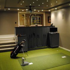 golf simulators design pictures remodel decor and ideas page 2