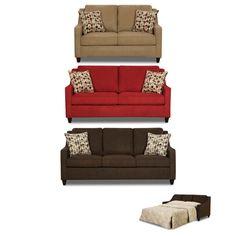 Simmons Upholstery 8950 Twillo Sleeper Sofa in Java Full Living Room Furniture Online, Furniture Deals, Home Office Furniture, Sofa Furniture, Living Rooms, Wayfair Living Room Sets, Full Sleeper Sofa, Sleeper Sofas, Sofa Italia