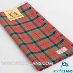 McNaughton Ancient Tartan Headsquare