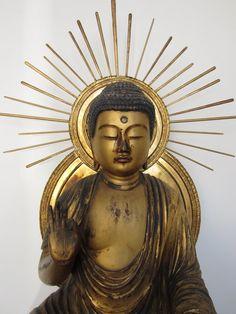Edo Period Seated Amida Buddha