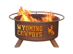 Patina Products F236 University of Wyoming Fire Pit
