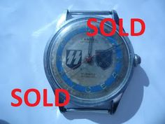 WAFFEN SS 36TH GRENADIER DIVISION SS DIRLEWANGER CLOCK WATCH GERMAN WW2 $499