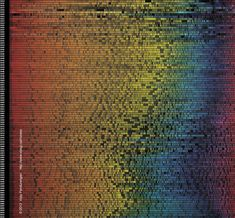 Visualization of colors in movie posters since 1914, by Vijay Pandurangan