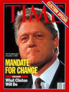 Time Magazine Nov 16 1992 Election Special Bill Clinton❤☀•✿•❤•✿•❤•❀•♪ by BusyQueen