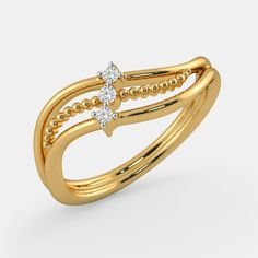 Daily wear gold ring designs for women - The handmade craft Antique Jewellery Designs, Gold Ring Designs, Gold Earrings Designs, Jewelry Design, Gold Finger Rings, Gold Rings Jewelry, Designer Engagement Rings, Fashion Rings, Rings For Men