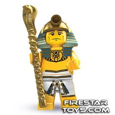 LEGO Minifigures - Pharaoh (firestartoys, 2013)