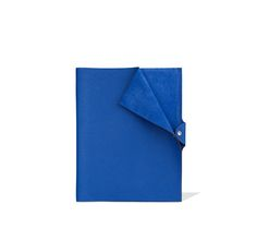 11db2f1924a Ulysse Hermes leather notebook cover in electric blue 9.8
