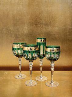 Stemware | Versace Home Available at Palazzo Collezioni Boutique Sydney  www.palazzocollezioni.com.au