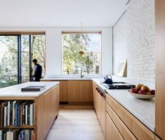 Modern Kitchen Design An Architect Breathes New Life Into a Brooklyn Row House - Shane Neufeld's year-old firm recently completed its first major project — the renovation of a dilapidated home in Bed-Stuy for his family.