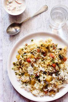 vegetable kerala biryani recipe, vegetable kerala biryani recipe