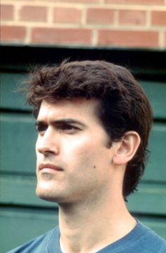 Bruce Campbell - how many people spotted that this picture has been flipped? His mole is on the wrong cheek.
