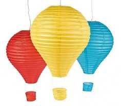 Hot Air Balloon Lantern Set | 3ct - $11.50