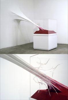 La delgada línea entre la escultura y la instalación de Jonh Von Bergen