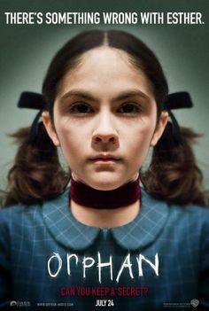 Orphan. Good movie...crazy a** girl!