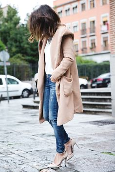My style, minus the heels that would more than likely cause me to fall on my face. LOL! Love them though! Lower heel, still nude color! Beautiful!