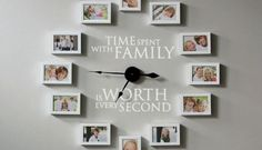 How to Create a Photo Wall Clock