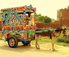 Kulfi Wala (Ice Cream Man) Street Food in Pakistan Truck Art Pakistan, Pakistan Zindabad, Ice Cream Man, Pakistani Culture, Kulfi, Gypsy Wagon, Central Asia, Incredible India, Public Transport