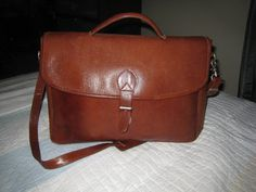 Buy European Leather Briefcase by moodsoflife. Explore more products on http://moodsoflife.etsy.com