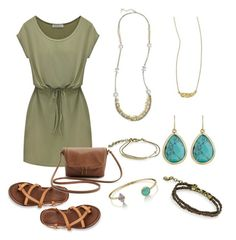 """Earthy feat. Chloe and Isabel Jewelry"" by timelesslyadorned-chloeandisabel on Polyvore"