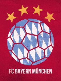 Resultado de imagem para bayern munich posters