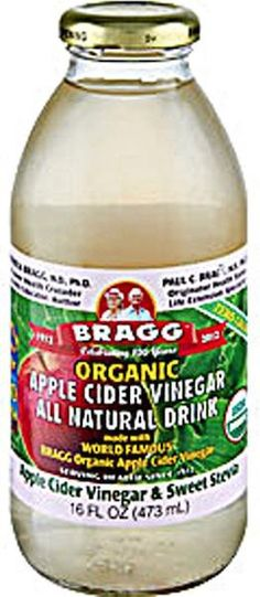 Save on Bragg Sweet Stevia. Apple Cider Vinegar has been highly regarded throughout history. In 400 B.C. Hippocrates, the Father of Medicine, used it for its amazing natural detox cleansing, healing,