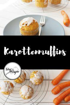 Karottenmuffins - SKY VS THE HUNGER
