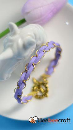 Wire Jewelry Rings, Handmade Wire Jewelry, Beaded Jewelry Designs, Diy Crafts Jewelry, Bracelet Crafts, Diy Leather Bracelet, Leather Cord, Quilling Designs, Homemade Jewelry