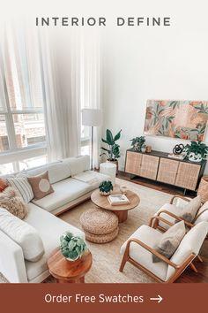Home Living Room, Apartment Living, Apartment Design, Living Room Designs, Living Room Decor, Corner Sofa Living Room Small Spaces, Duplex Design, House Design, Corner Sectional Sofa
