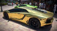 Gold Lamborghini |