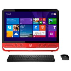 "HP - ENVY Beats 23"" Touch-Screen All-In-One - Intel Core i5 - 8GB Memory - 1TB Hard Drive - Larger Front"