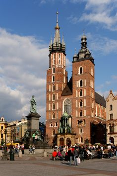 http://upload.wikimedia.org/wikipedia/commons/7/7b/Krak%C3%B3w_-_St._Mary_Church_01.JPG Poland Architecture Image 29  St. Mary's Cathedral Krawkow Poland **Chris has been here**