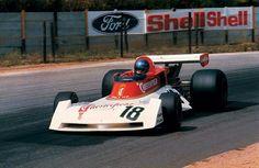 1976 Kyalami Chesterfield Surtees TS19 Brett Lunger