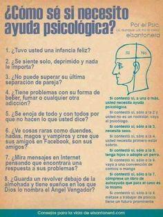 ¿Cómo se si necesito ayuda psicológica?