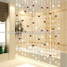 decorative beads curtains,Door Curtain,ScreensFeature: Luxury/Romantic/Fantastic/Elegant
