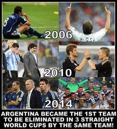 Argentina dime que se siente tener a Alemania de papá!