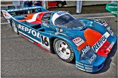"1990 Brun ""Repsol"" Porsche 962C Group C Car.Silverstone Classic 2007. | by Antsphoto"