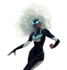 Ororo Munroe-Code Name: Storm - Mutant Abilities: Weather manipulation, Energy perception, Ecological empathy, Resistance to the effects of the weather and extreme temperatures. Marvel Girls, Marvel Vs, Marvel Comics, Cosmic Comics, Anime Comics, Captain Marvel, Comic Book Characters, Marvel Characters, Comic Character